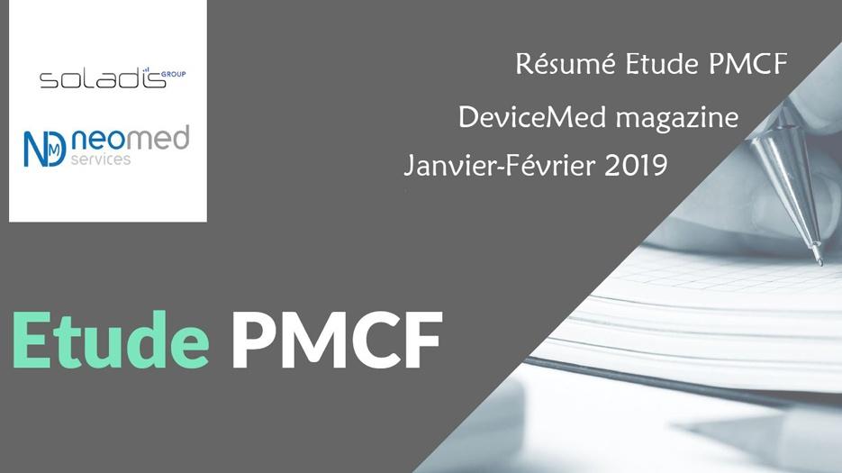 Article PMCF dans le DeviceMed Janvier/Février